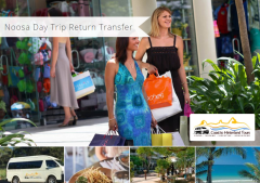 Noosa Day Trip Return Transfer is now Live on the Tourism Town Marketplace!